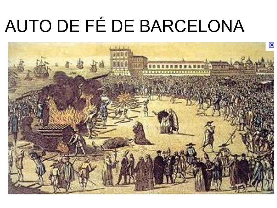 AUTO DE FÉ DE BARCELONA