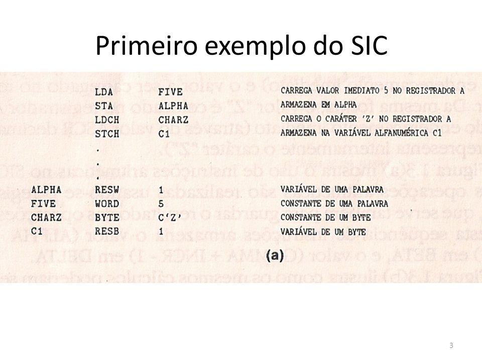 Primeiro exemplo do SIC 3