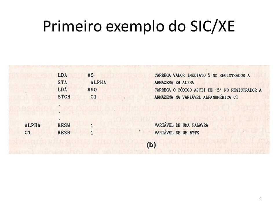 Primeiro exemplo do SIC/XE 4