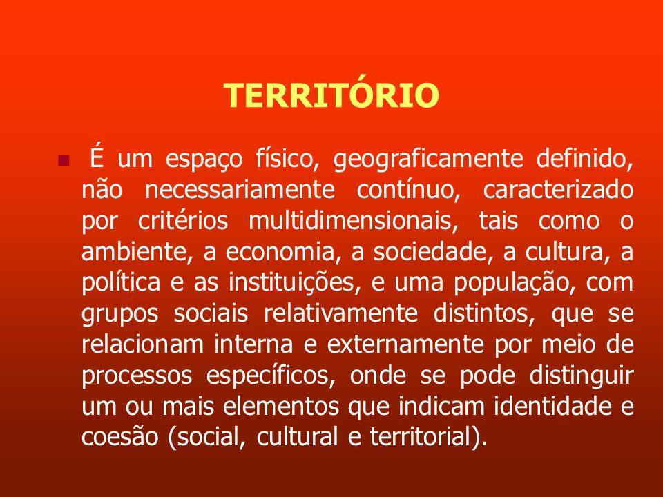 COESÃO a coesão social, como expressão de sociedades nas quais prevaleça a equidade, o respeito à diversidade, a solidariedade, a justiça social, o sentimento de pertencimento e a inclusão; e a coesão territorial como expressão de espaços, recursos, sociedades e instituições imersas em regiões, nações ou espaços supranacionais, que os definem como entidades cultural, política e socialmente integradas.