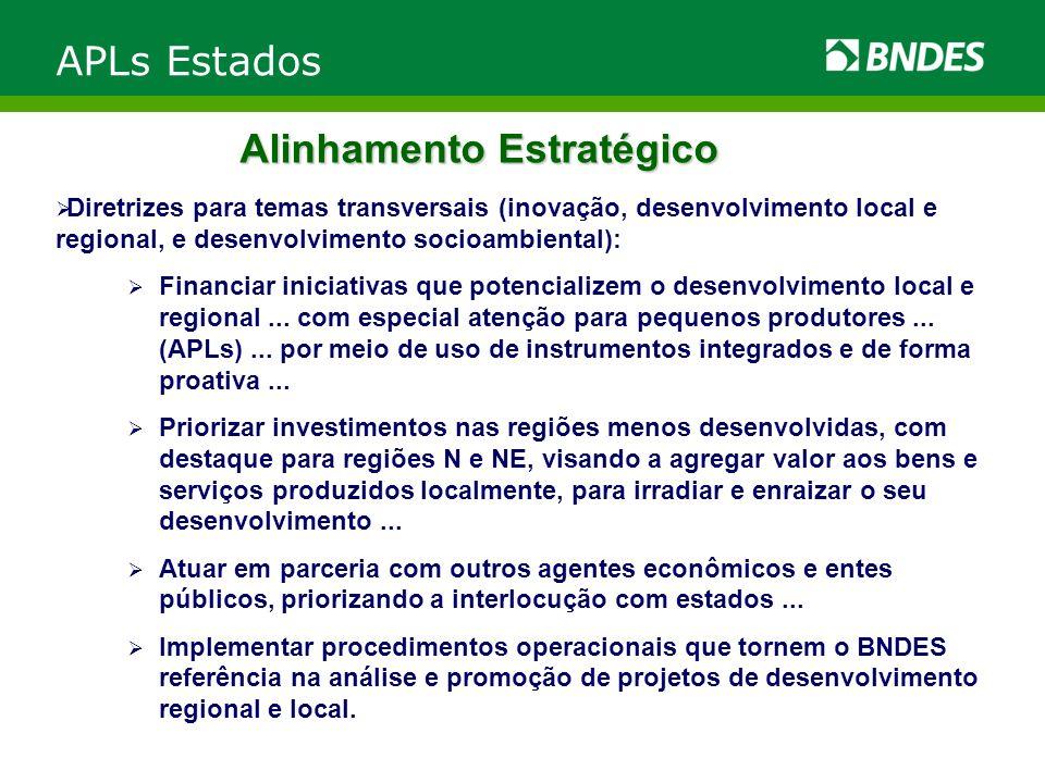 Diretrizes para temas transversais (inovação, desenvolvimento local e regional, e desenvolvimento socioambiental): Financiar iniciativas que potencial