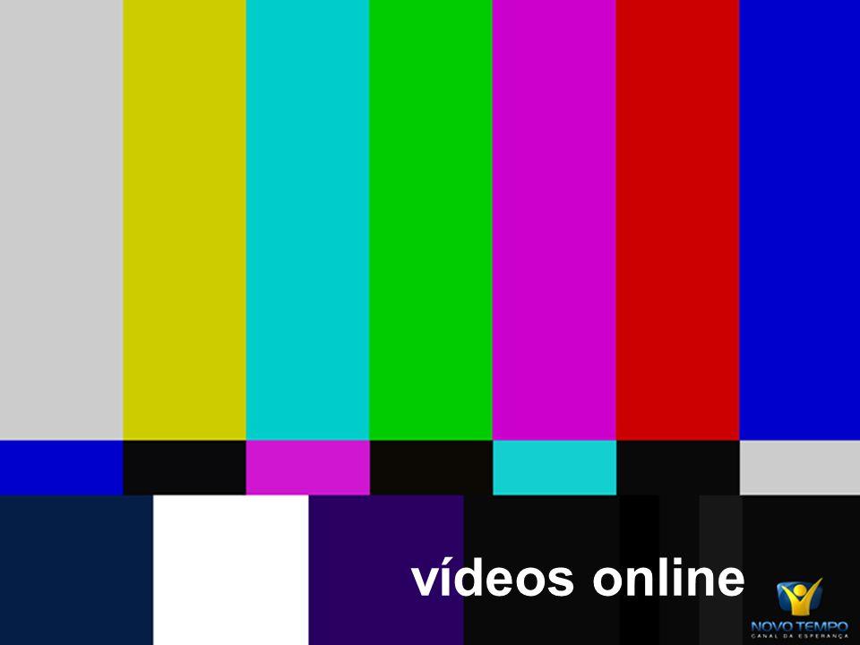 TV Layout Atual -Maior destaque para Progrmas -Tv ao vivo na primeira página e a parte do site com amior destaque -Mantemos a apresentação da programação -Progrmas destacados por todo o site -Central de notícias -Ultimo video do Youtube -Criação de enquete e pesquisas usando ferramentas open source e que não gastam tempo de desenvolvimento -Criação e de comunidades e link diretamente para comunidades da TV Novotempo -Possibilidade do usuário colocar a Tv ao vivo em seu próprio site -Papéis de parede da Novo tempo para o usuário fazer download -Mantemos todos os itens contidos no ssite anterior apenas alterando o layout -Layout padronizado igual para português e espanhol -Destaques para Promoções e Anjos da esperança