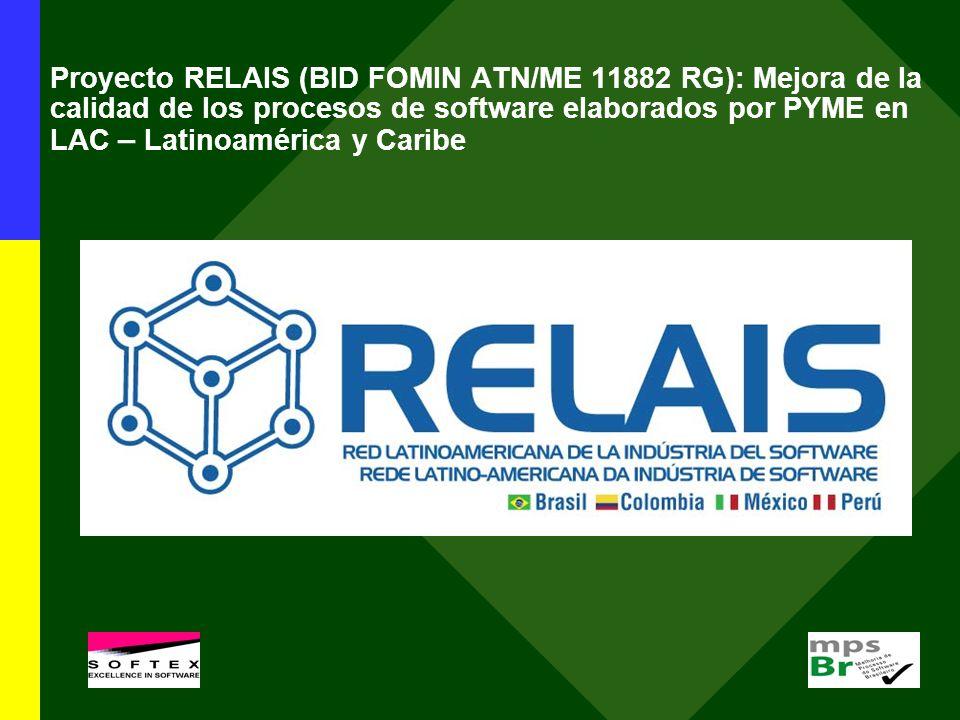 Proyecto RELAIS (BID FOMIN ATN/ME 11882 RG): Mejora de la calidad de los procesos de software elaborados por PYME en LAC – Latinoamérica y Caribe