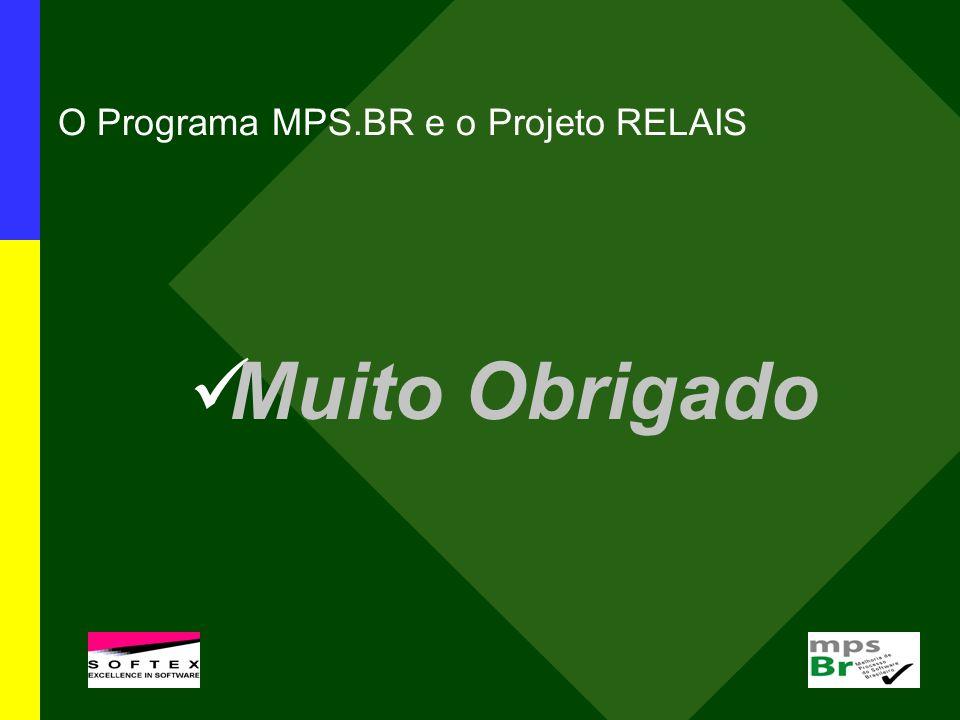O Programa MPS.BR e o Projeto RELAIS Muito Obrigado