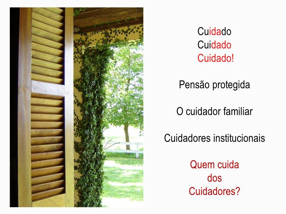 Entre o criar e o sofrer Cuidadora na favela Tecendo cuidados: as redes sociais Filha cuidadora Novo lar aos idosos.