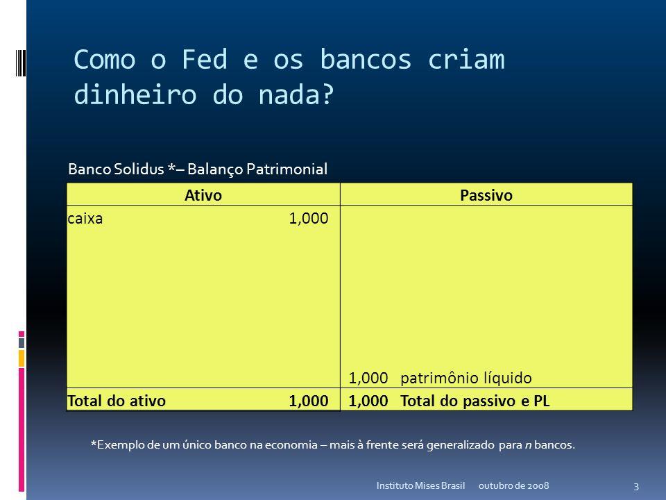 As origens da crise do crédito outubro de 2008Instituto Mises Brasil 2