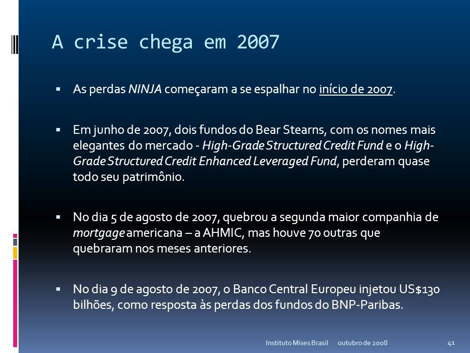 Trader da Goldman outubro de 2008Instituto Mises Brasil 40