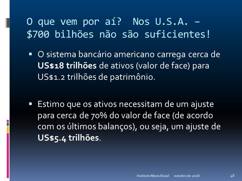 outubro de 2008Instituto Mises Brasil 47