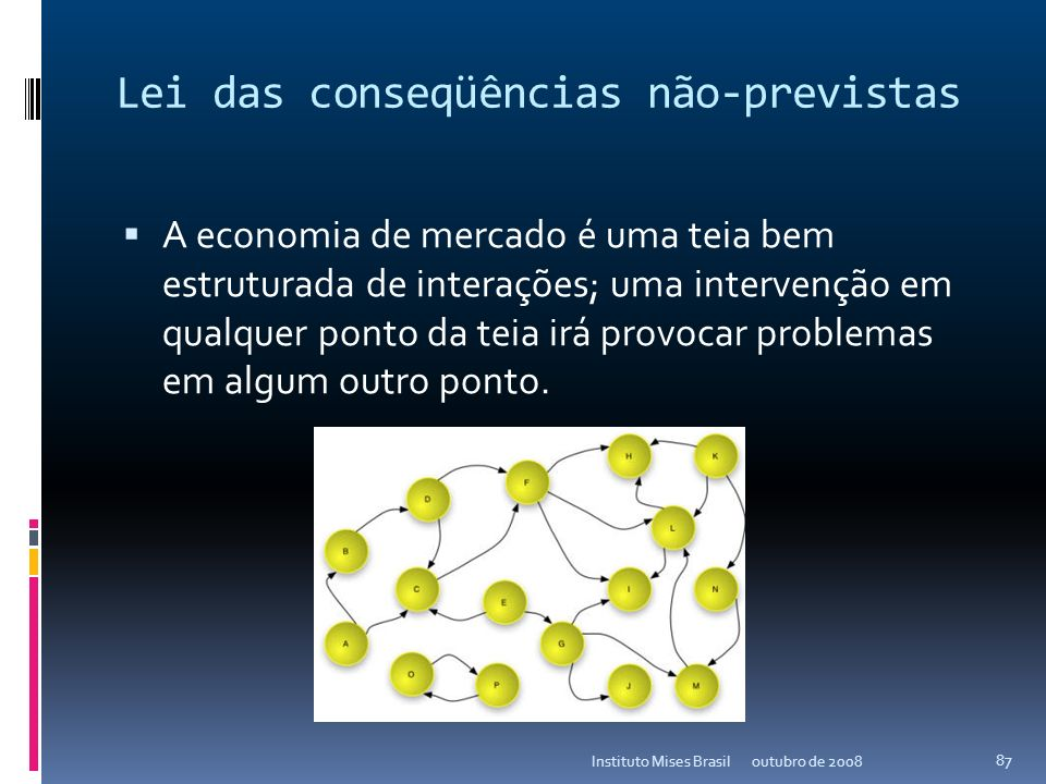 Crescimento individual? outubro de 2008Instituto Mises Brasil 86