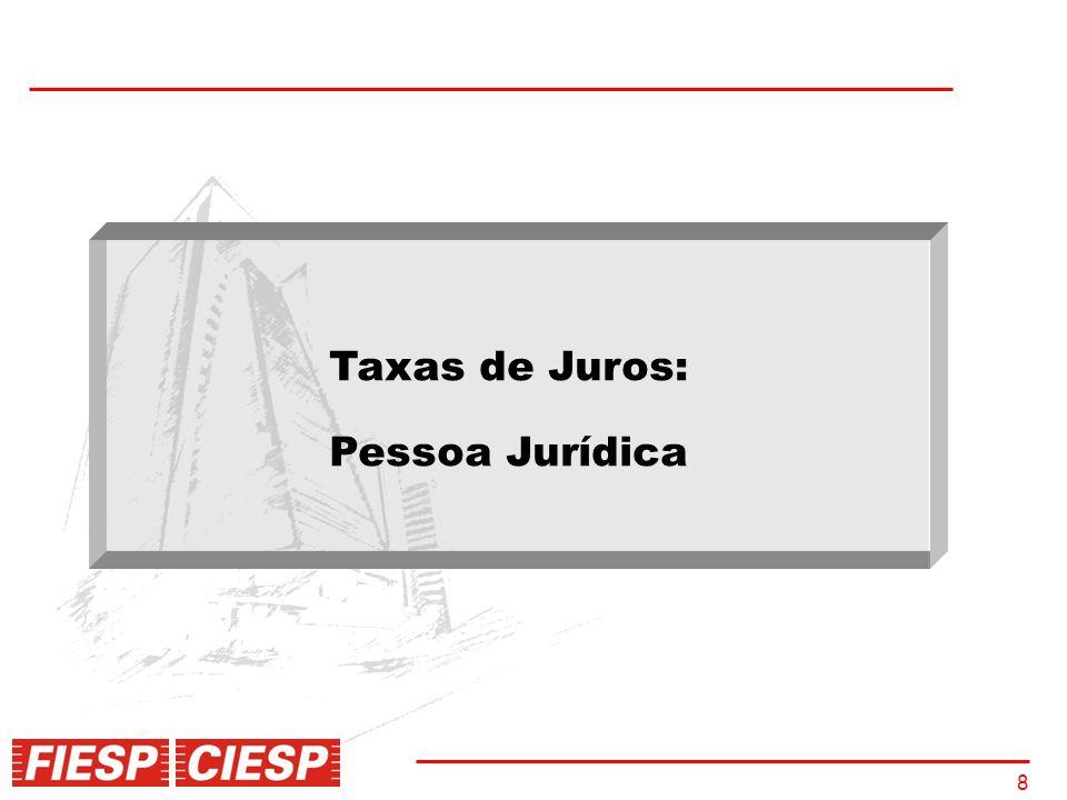 8 Taxas de Juros: Pessoa Jurídica