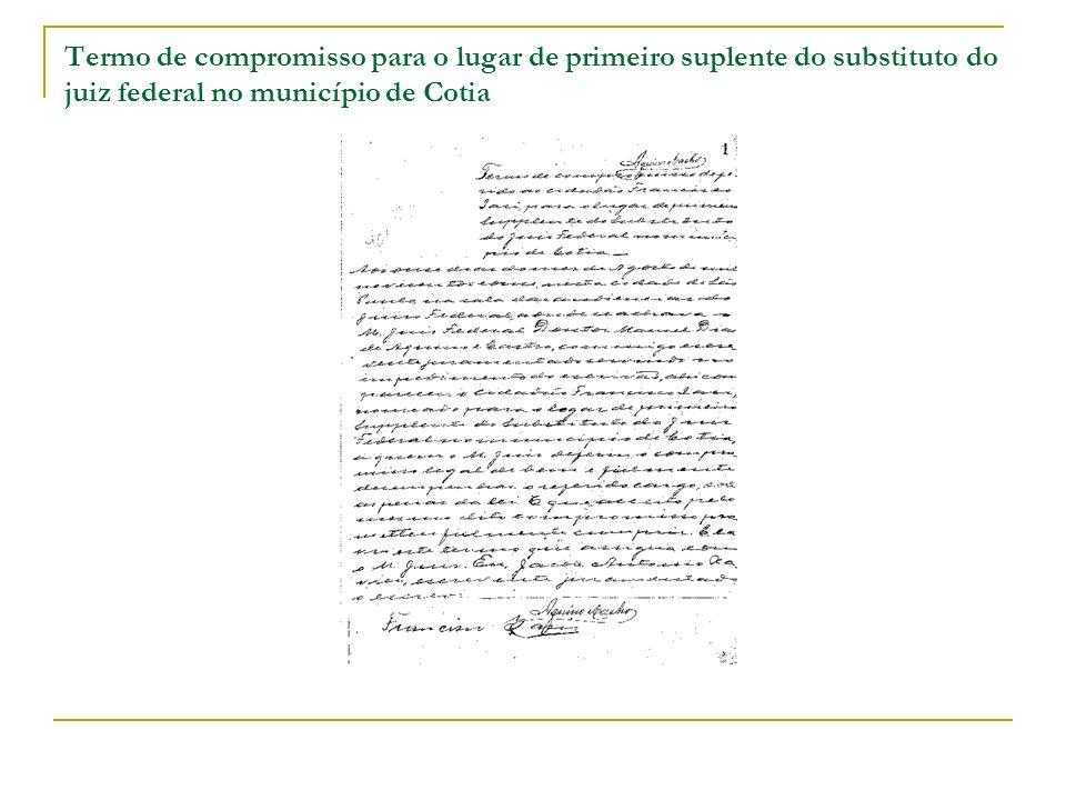 Bibliografia BRASIL.Conselho da Justiça Federal. Resolução n.º 23, de 19 de setembro de 2008.