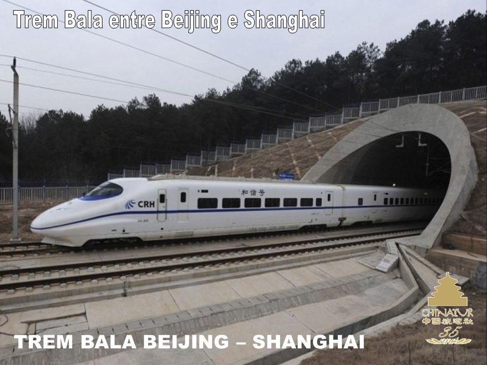 TREM BALA BEIJING – SHANGHAI