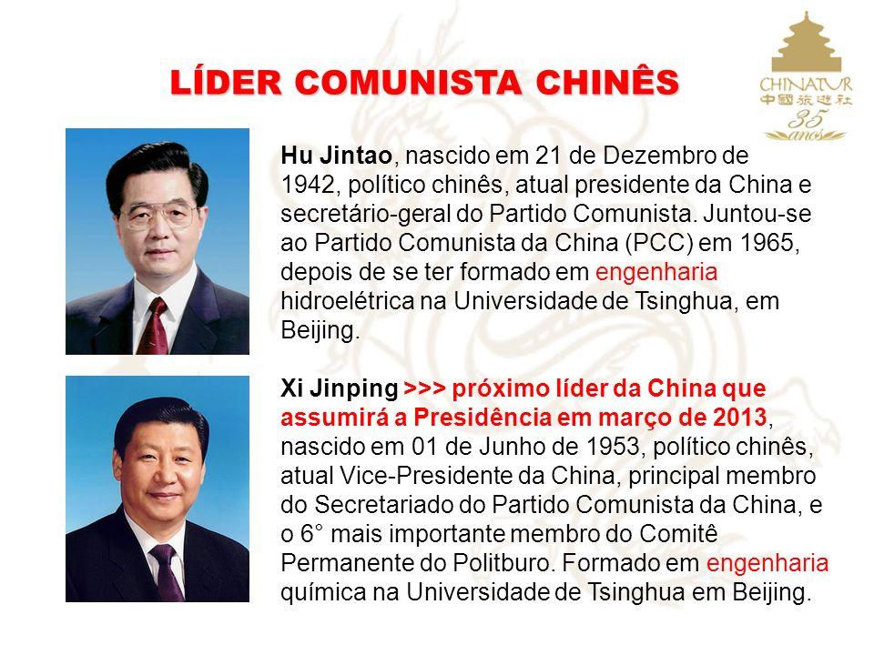 LÍDER COMUNISTA CHINÊS Hu Jintao, nascido em 21 de Dezembro de 1942, político chinês, atual presidente da China e secretário-geral do Partido Comunist