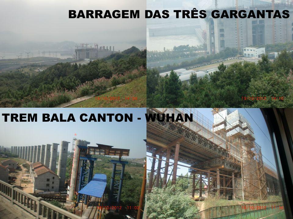 TREM BALA CANTON - WUHAN