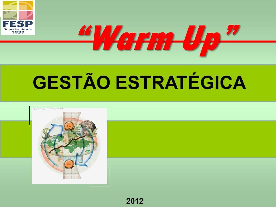 2012 GESTÃO ESTRATÉGICA Warm Up