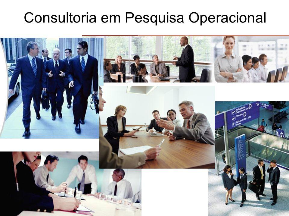 Consultoria em Pesquisa Operacional