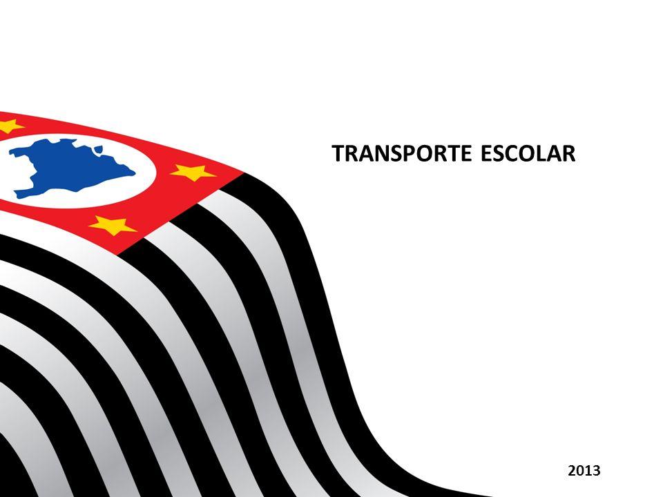 TRANSPORTE ESCOLAR 2013