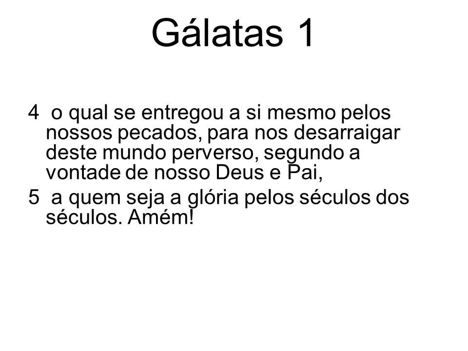 Gálatas (Gl.) Autor: Paulo Data: Cerca de 55 - 56 dC Gálatas é a única carta que Paulo endereçou especialmente a uma grupo de Igrejas.