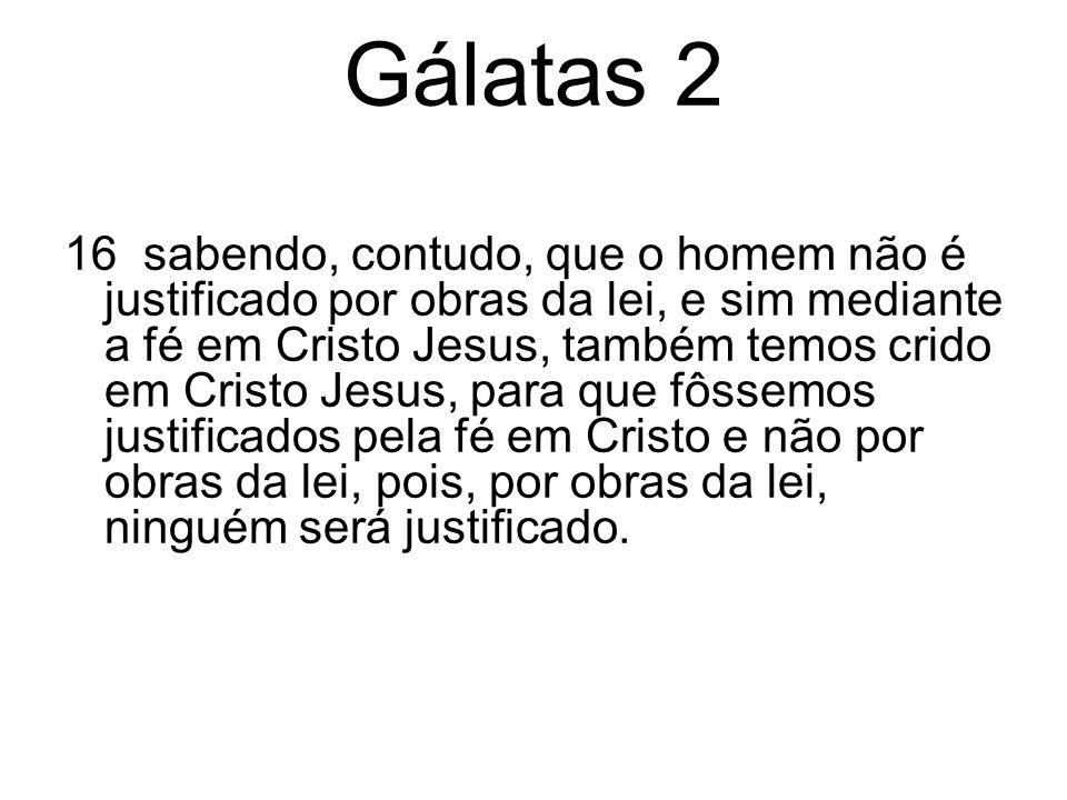 Gálatas 2 20 logo, já não sou eu quem vive, mas Cristo vive em mim; e esse viver que, agora, tenho na carne, vivo pela fé no Filho de Deus, que me amou e a si mesmo se entregou por mim.