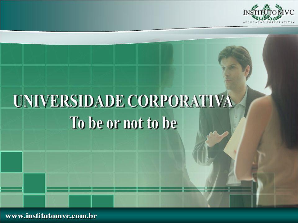 www.institutomvc.com.br www.institutomvc.com.br Sumário Marketing do Processo de Desenvolvimento Um Exemplo - Alternativas Comparativo UC x Unidade de Treinamento / Desenvolvimento Em que Estágio de T&D estamos.