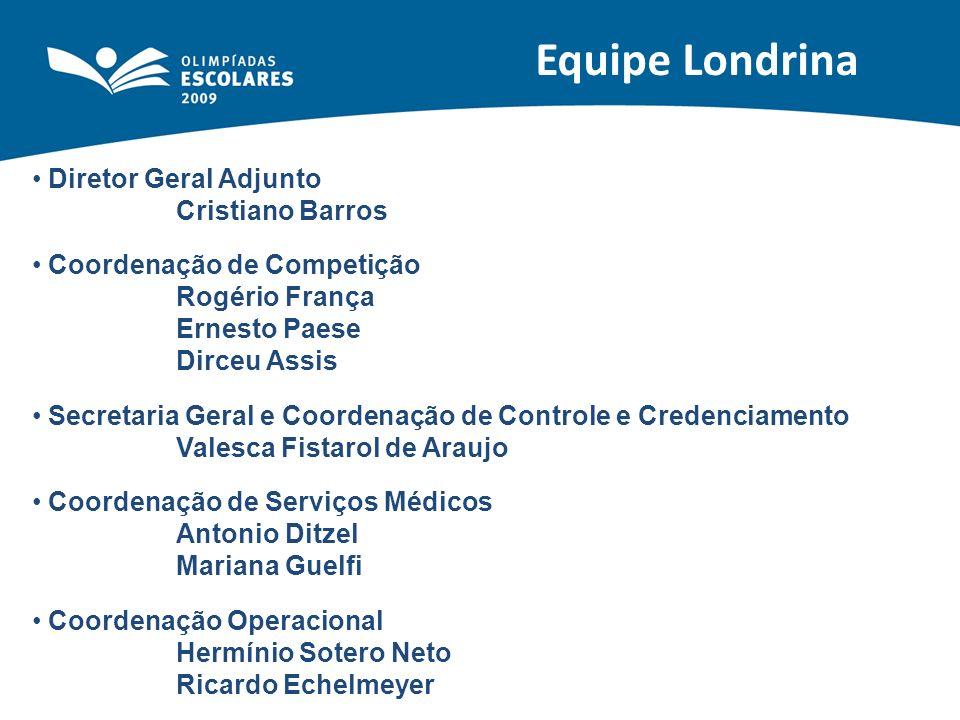 CENTRO DE CONVIVÊNCIA Maringá e Londrina Jogos de Salão + Cyber + WADA Local: Restaurantes Período: 04/11 a 15/11 Horário de Funcionamento: durante as refeições Londrina Clínicas Esportivas – Lutas e Esgrima