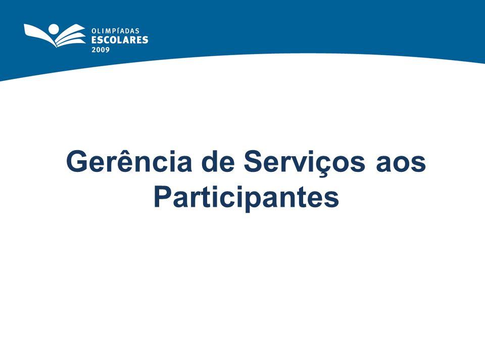 Gerência de Serviços aos Participantes