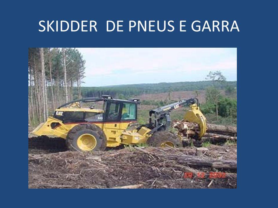 SKIDDER DE PNEUS E GARRA