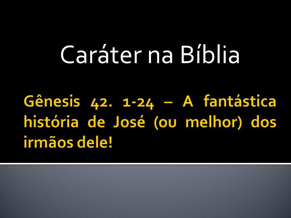 Caráter na Bíblia