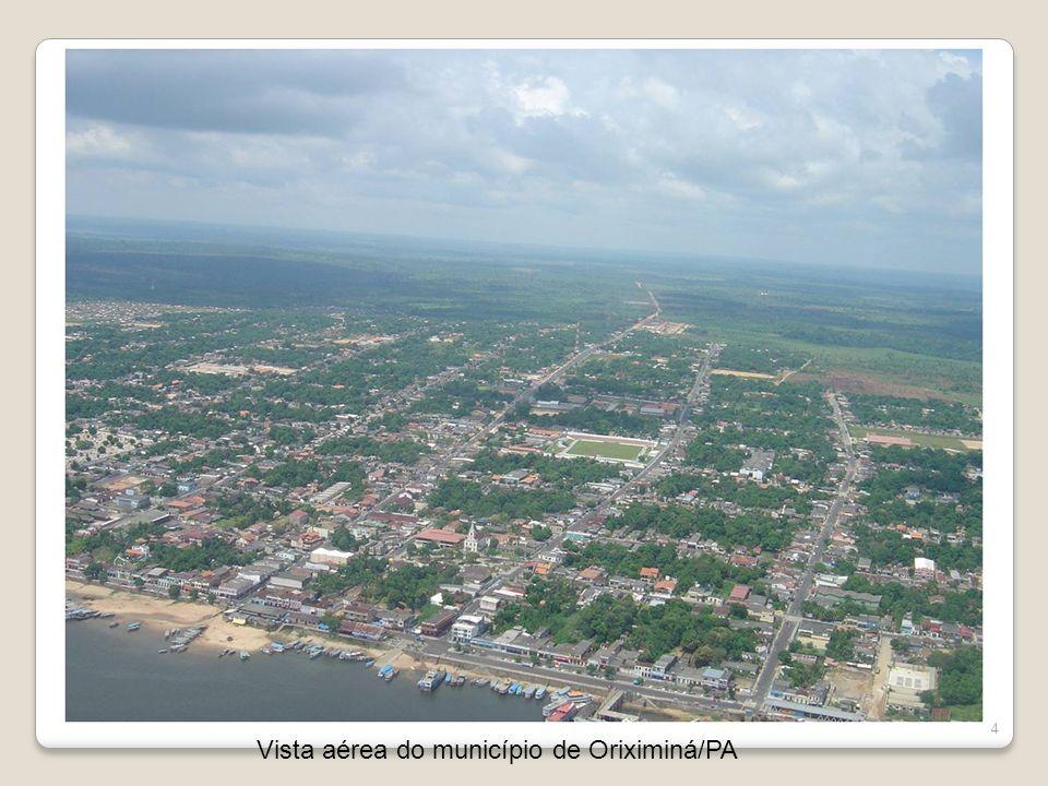4 Vista aérea do município de Oriximiná/PA