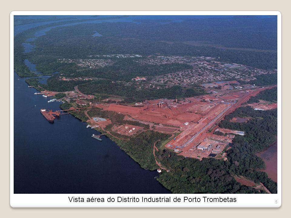 5 Vista aérea do Distrito Industrial de Porto Trombetas