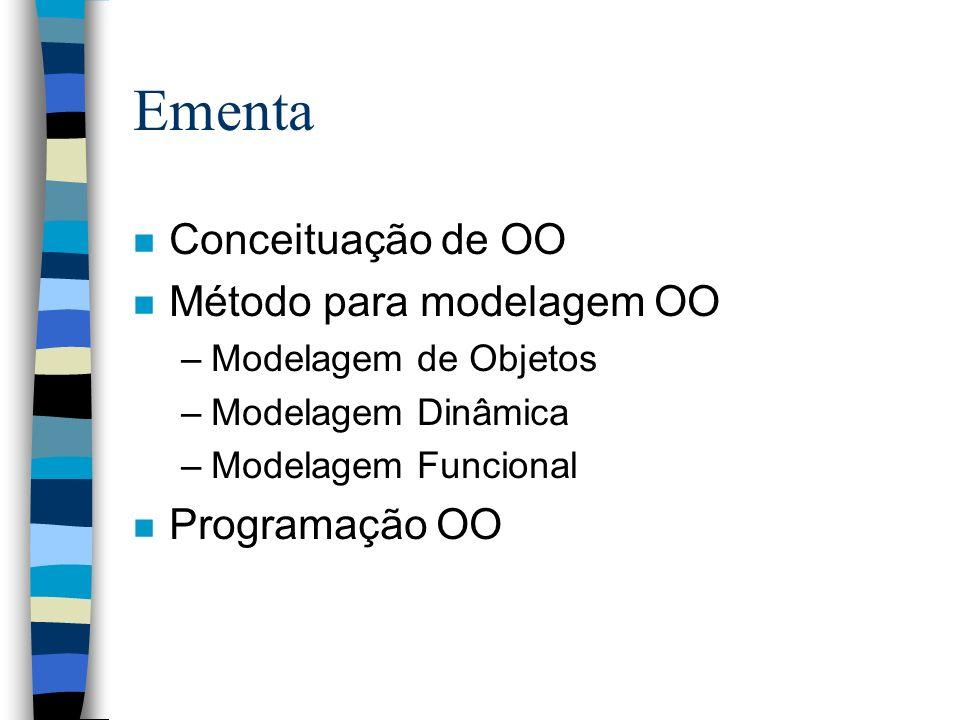 Bibliografia Básica n James Rumbaugh et al.Modelagem e Projetos Baseados em Objetos.