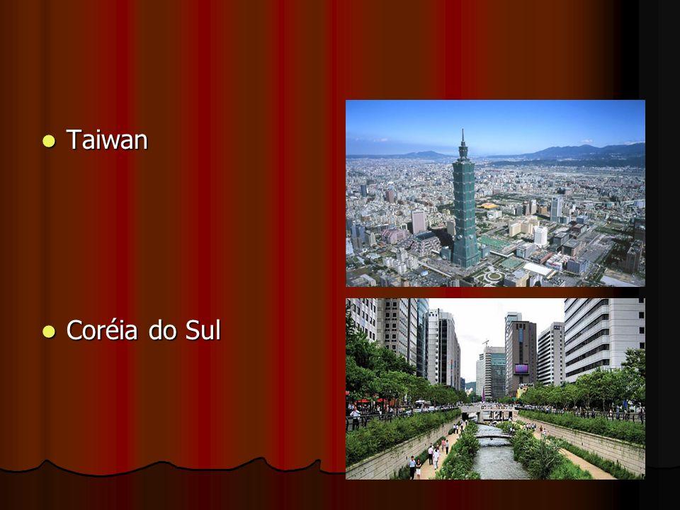 Taiwan Coréia do Sul