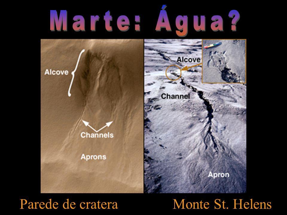 Parede de crateraMonte St. Helens