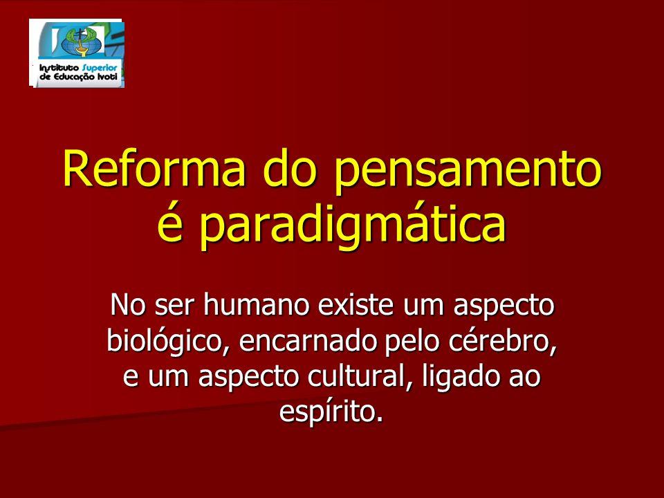 VII - A ética do gênero humano Caráter ternário: Indivíduo - sociedade - espécie Democracia Cidadania Terrestre