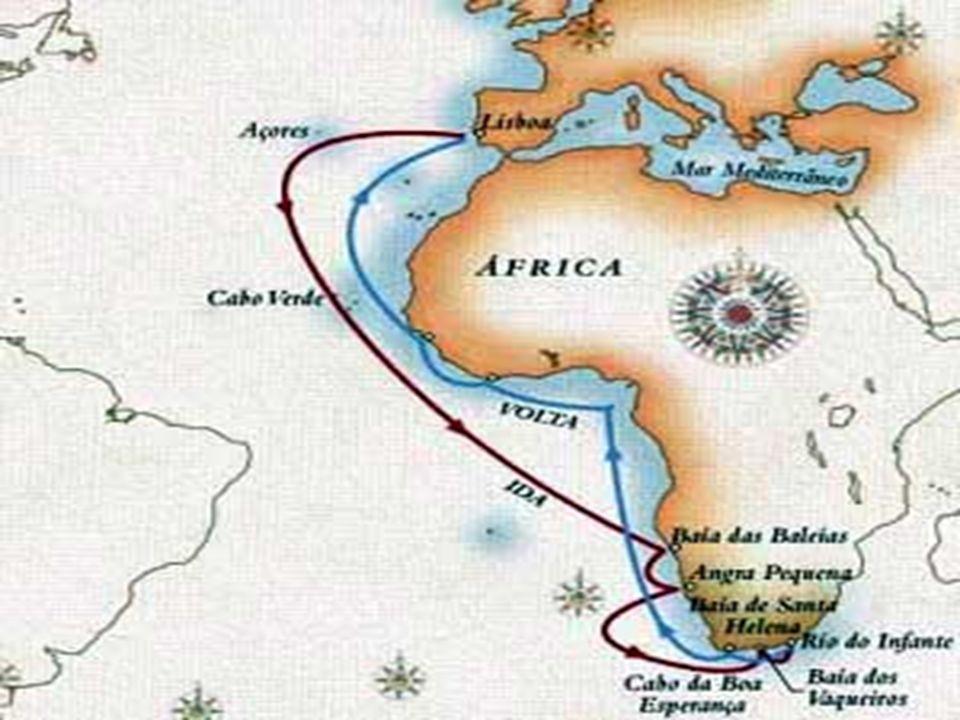 Expansão Portuguesa -Índia/Calicute, Vasco da Gama, 1488