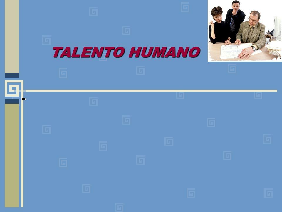 - TALENTO HUMANO