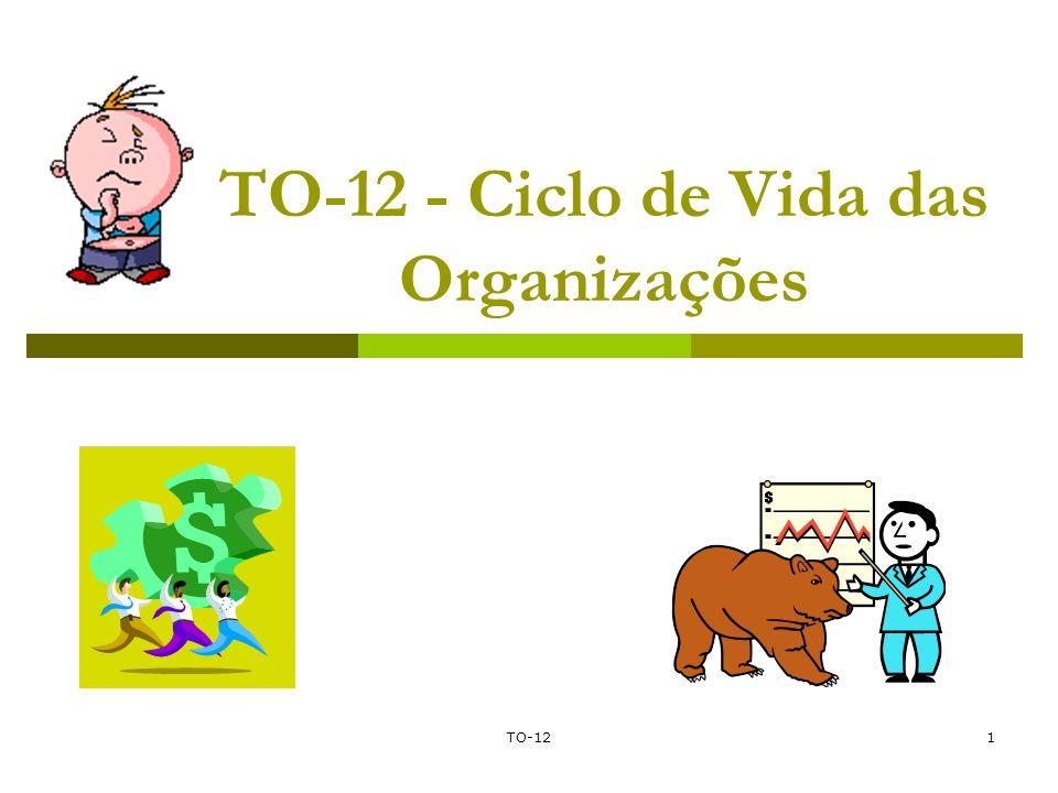 TO-121 TO-12 - Ciclo de Vida das Organizações