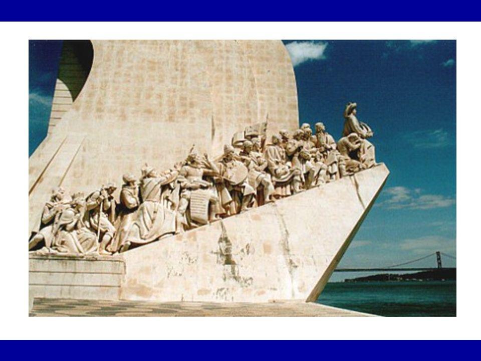 Primeiras conquistas *Ceuta (atual Marrocos) - 1415 *Bartolomeu Dias – de Cabo das Tormentas para Cabo da Boa Esperança – 1488.