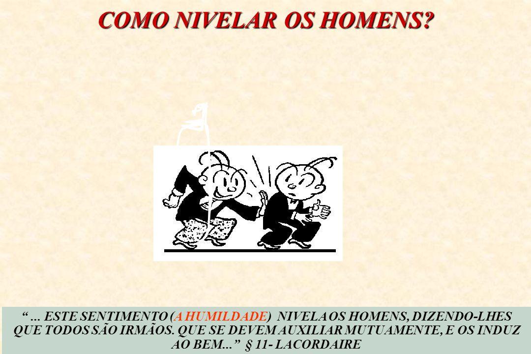 ALUMAS CARACTERÍSTICAS DO ORGULHOSO E DO HUMILDE O ORGULHOSOO HUMILDE 1.