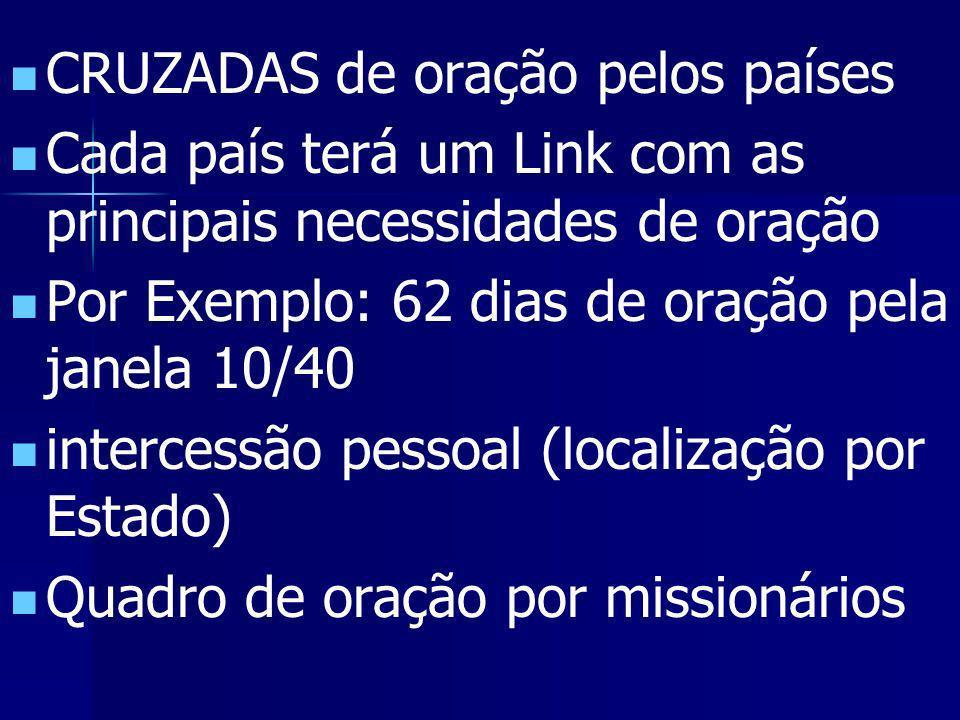 MOTIVOS DE INTERCESSÃO E LOUVOR, ESPECIALMENTE NA ÁREA EVANGELÍSTICO- MISSIONÁRIA ARTIGOS & ESTUDOS SISTEMÁTICOS SOBRE ORAÇÃO MENSAGENS DEVOCIONAIS DI