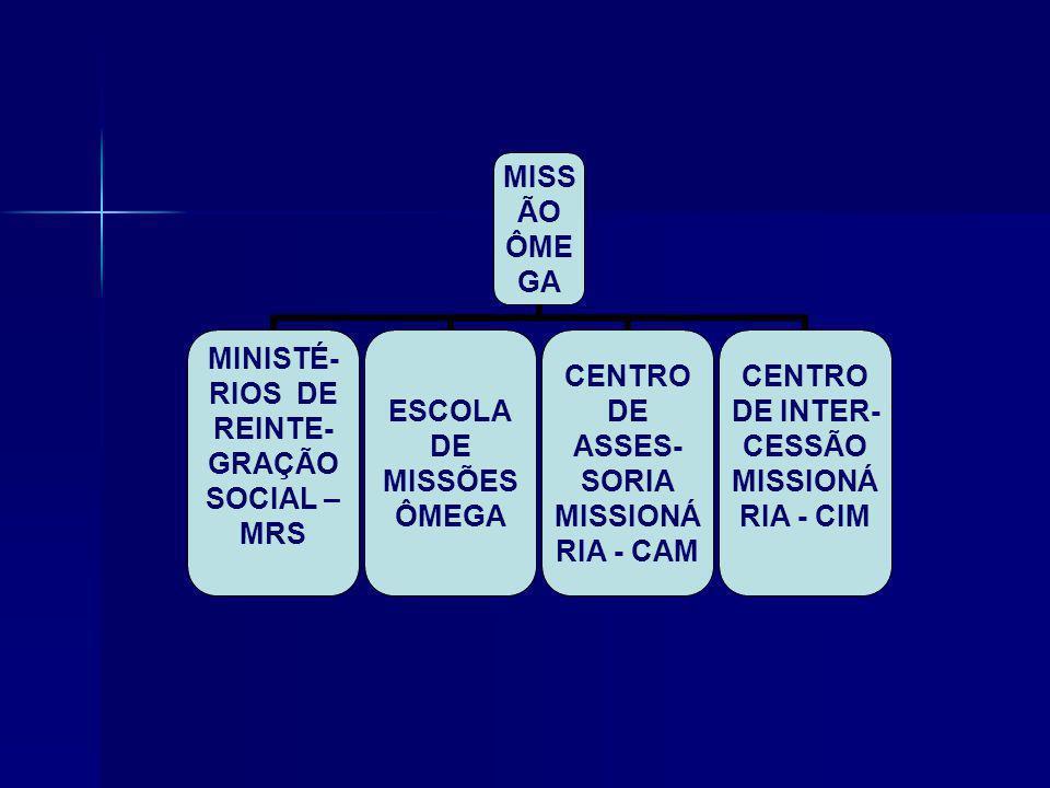 MISSÃO ÔMEGA ORGANOGRAMA