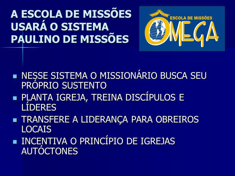 O Que é É uma Associação Missionária, sem fins lucrativos OBJETIVOS: OBJETIVOS: ESCOLA DE MISSÕES ESCOLA DE MISSÕES CENTRO DE ASSESSORIA MISSIONÁRIA C