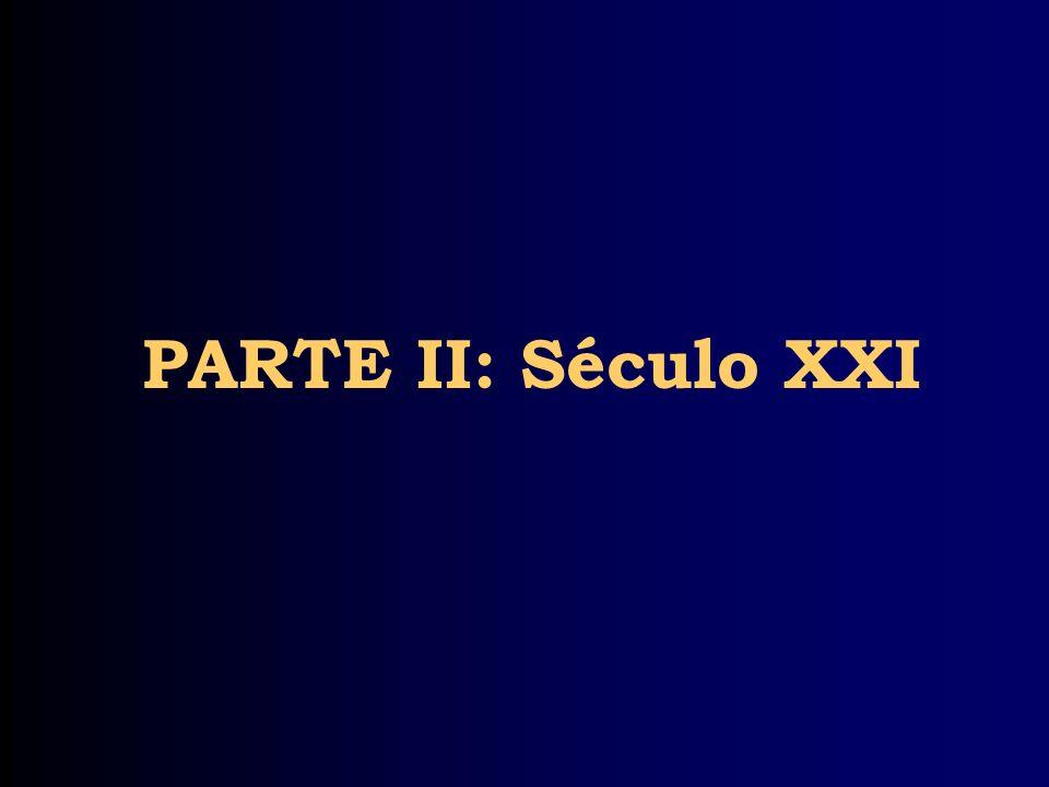 PARTE II: Século XXI