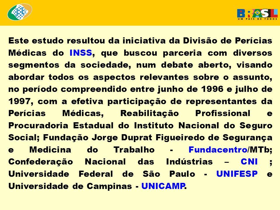 Ressaltamos que a proposta resultante do trabalho elaborado em parceria foi submetida à apreciação da Comissão Tripartite Paritária - CTTP, em maio de 1997, para análise e sugestões.