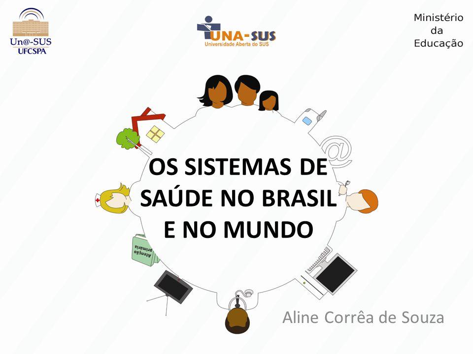 Aline Corrêa de Souza OS SISTEMAS DE SAÚDE NO BRASIL E NO MUNDO