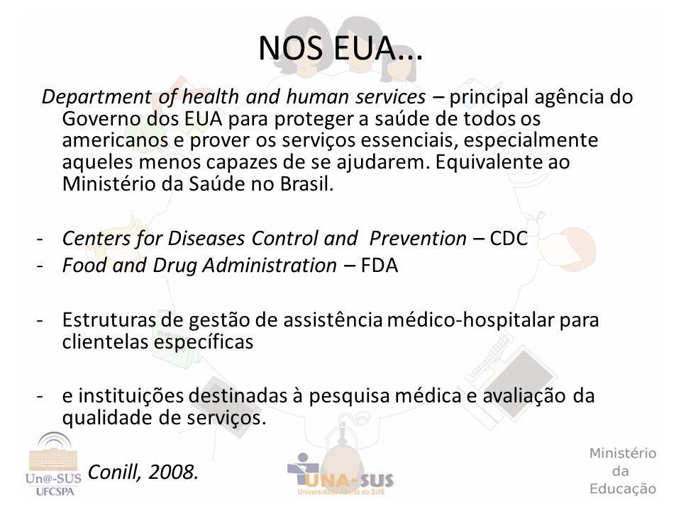 Department of health and human services – principal agência do Governo dos EUA para proteger a saúde de todos os americanos e prover os serviços essen