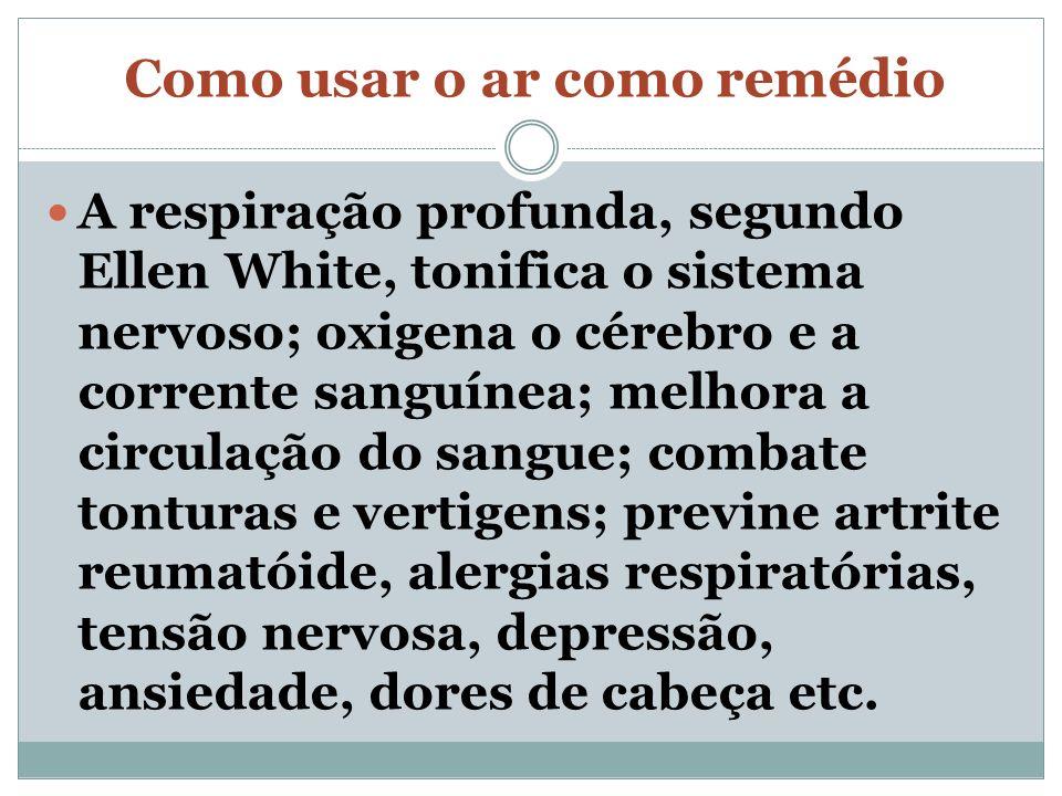 Água Pura, o segundo remédio – O tratamento pelo uso da água é conhecido cientificamente como hidroterapia (terapia pelo uso da água), que pode ser associada com argila, para a restauração da saúde em inúmeras enfermidades, especialmente nos casos de tumores, dores em geral, artrose, contusões e até cegueira.