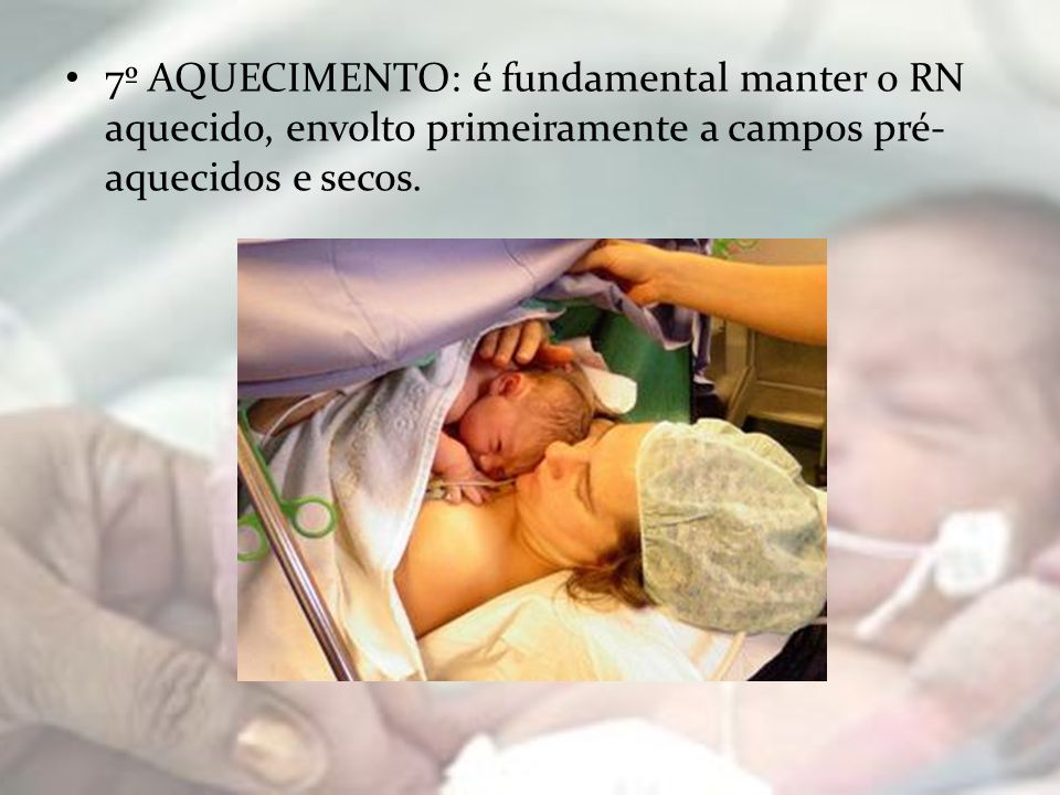 14º BANHO: Objetivo de limpar a pele do paciente, proporcionando conforto e bem- estar, estimulando também a circulação.
