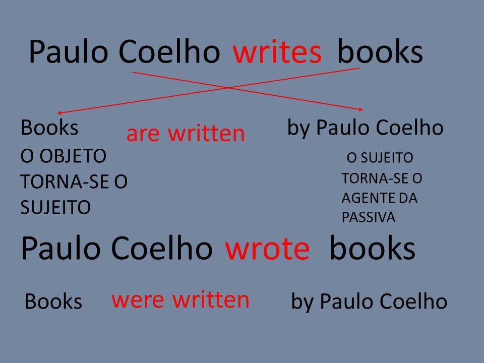 Paulo Coelho bookswrites Paulo Coelho bookswrote Books by Paulo Coelho O OBJETO TORNA-SE O SUJEITO O SUJEITO TORNA-SE O AGENTE DA PASSIVA are written were written