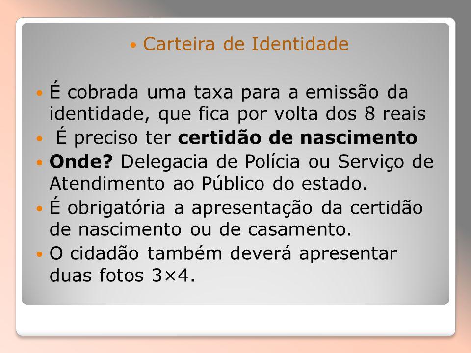 CPF CPF: Caixa Econômica Federal, Correios ou agências do Banco do Brasil.